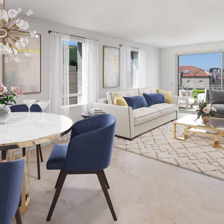 luxury jerusalem living room