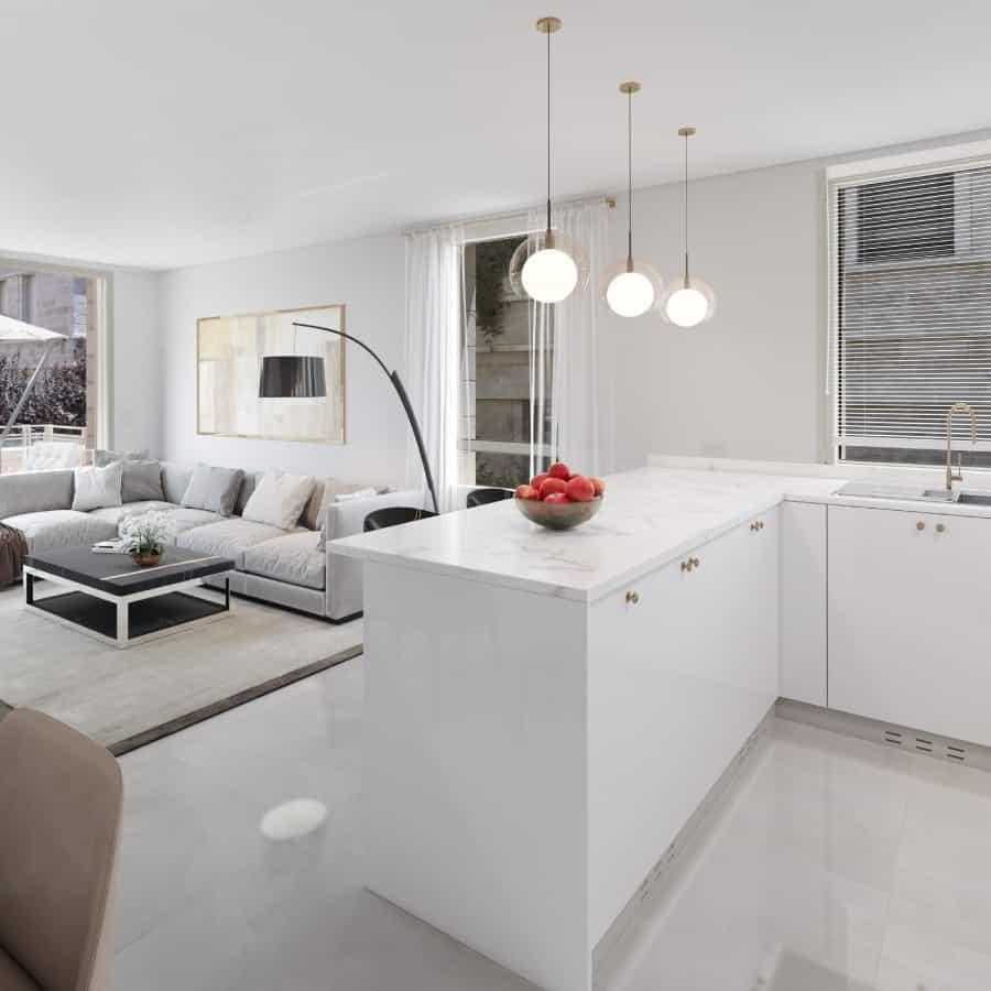 luxury kitchen in baka jerusalem