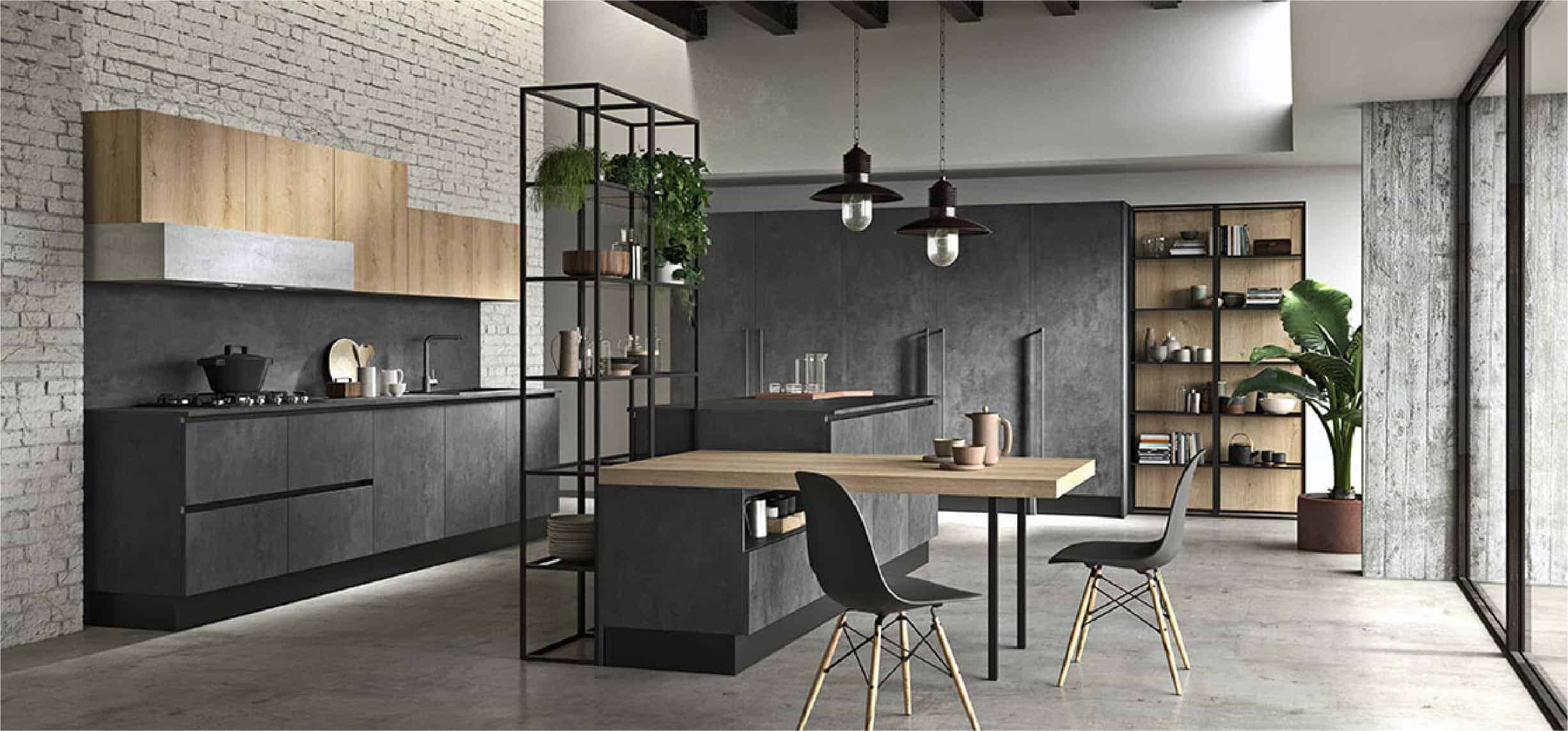 gray jerusalem kitchen design