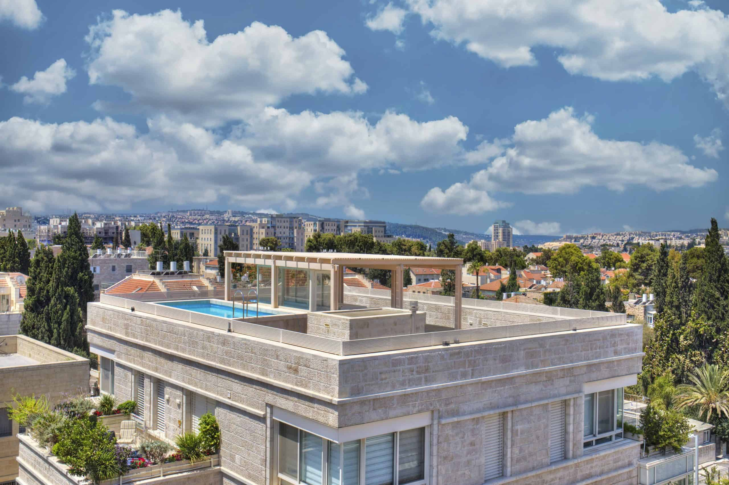 jersualem penthouse with pool