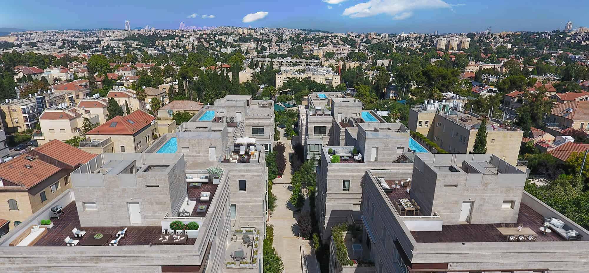 jerusalem aerial view