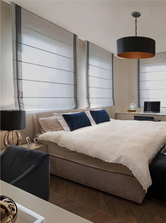 master luxury bedroom in jerusalem apartment